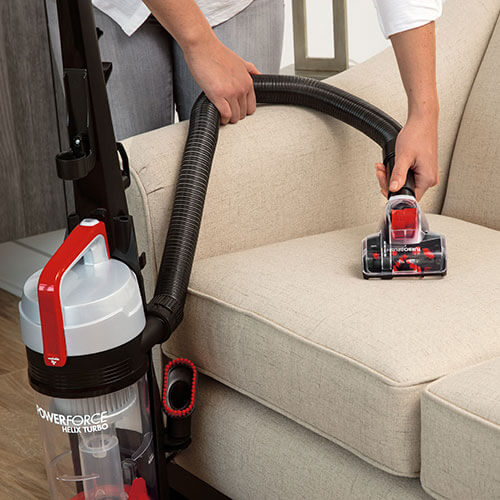 PowerForce Helix Turbo 2190 BISSELL Vacuum Cleaner Easy Wash Shelf Couch
