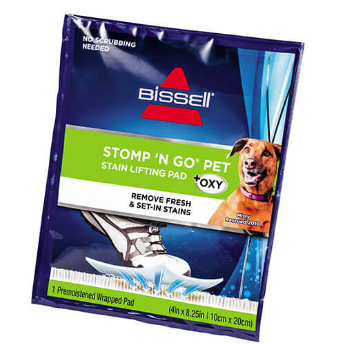 Stomp n Go 2194 BISSELL Carpet Cleaning Formula Pouch Angle