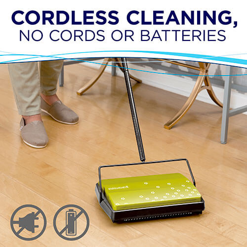 Manual Sweeper 2198 BISSELL Sweepers Cordless Cleaning