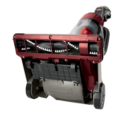 CleanView Deluxe Vacuum 2410 Bottom Brush View