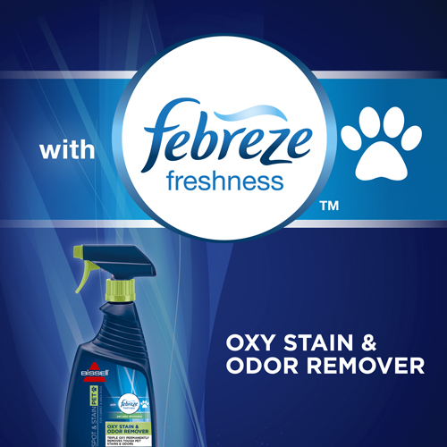 BISSELL Pet Oxy Stain Odor Remover with Febreze 2867 Febreze Freshness