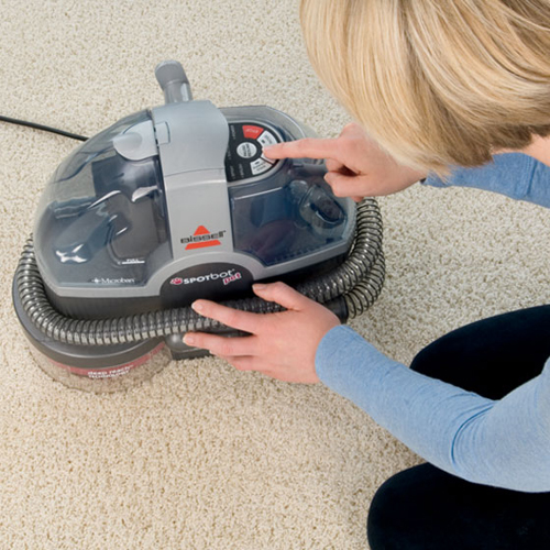 33N8 SpotBot Pet Portable Carpet Cleaner Hands Free Carpet Cleaner