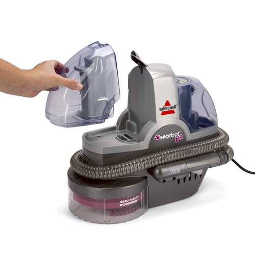 33N8 SpotBot Pet Portable Carpet Cleaner Dirty Water Tank
