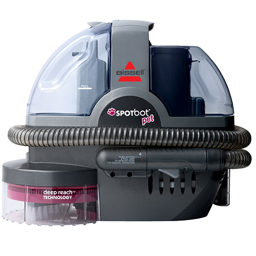 33n8 spotbot pet portable carpet cleaner front view