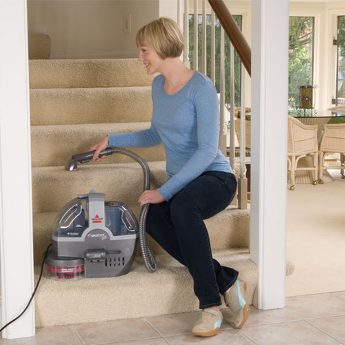 33N8 SpotBot Pet Portable Carpet Cleaner Manual Stair Cleaning