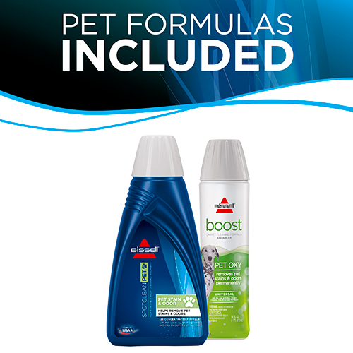 SpotBot Pet 33N8 Formulas Included BISSELL Carpet Cleaners