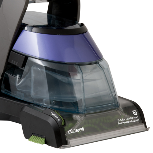 DeepClean Deluxe Pet Carpet Cleaner Front Tank View