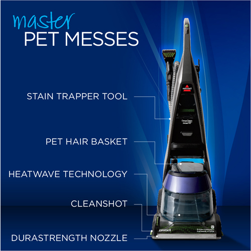 DeepClean Deluxe Pet Carpet Cleaner 36Z9 Product Features