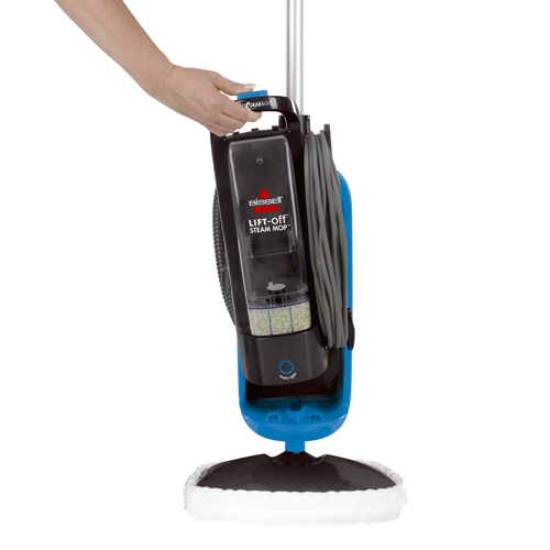 LiftOff Steam Mop Steam Cleaner W BISSELL - Lift off floor removal