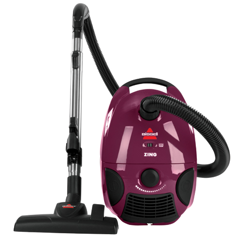 Zing Bagged Canister Vacuum Front 4122