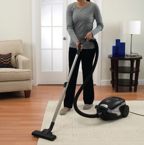 Opticlean Bagged Canister Vacuum 42Q82 rugs