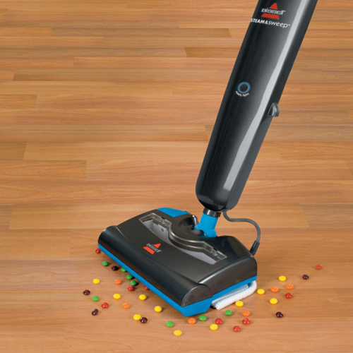 Steam and Sweep Steam Mop 46B4W wood floors