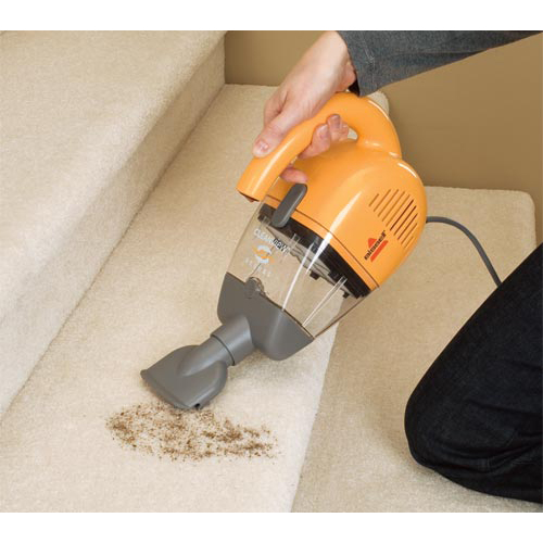 Cleanview Handheld Vacuum 47R5B stairs