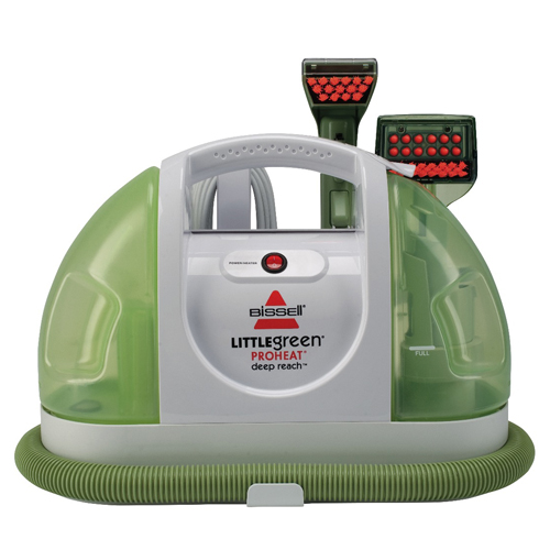 bissell little green machine green proheat 174 portable carpet cleaner bissell 174 29269
