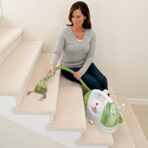 Little Green Proheat DeepReach Carpet Cleaner 50Y6A Stair Cleaning