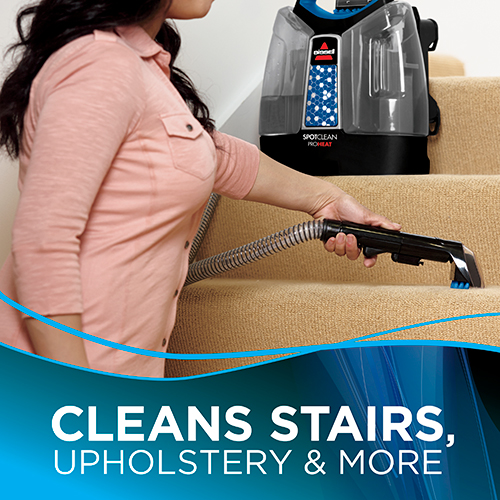 Spotclean Proheat Portable Carpet Cleaner 5207f Bissell
