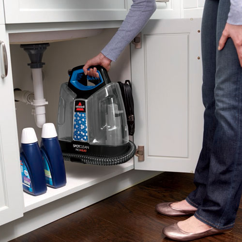 Spotclean Proheat Portable Carpet Cleaner Storage