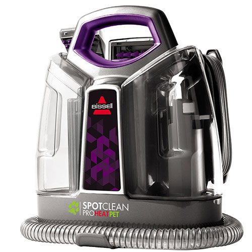 Bissell Spotclean Proheat Pet 6119w Portable Carpet Cleaners