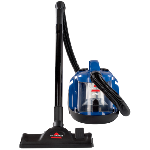 Zing Bagless Canister Vacuum Hero