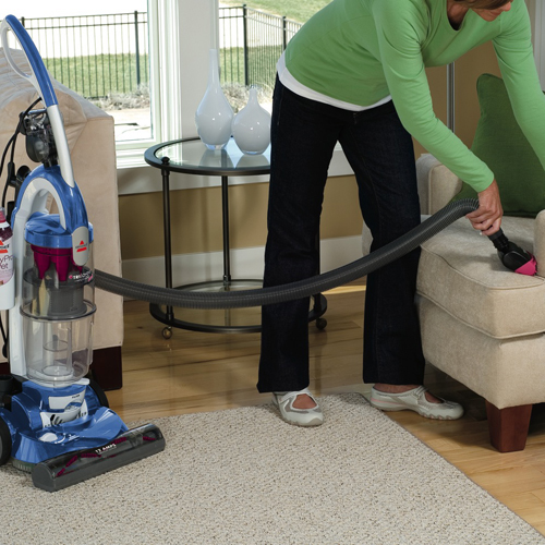 Trilogy Bagless Pet Vacuum 81m91 upholstery