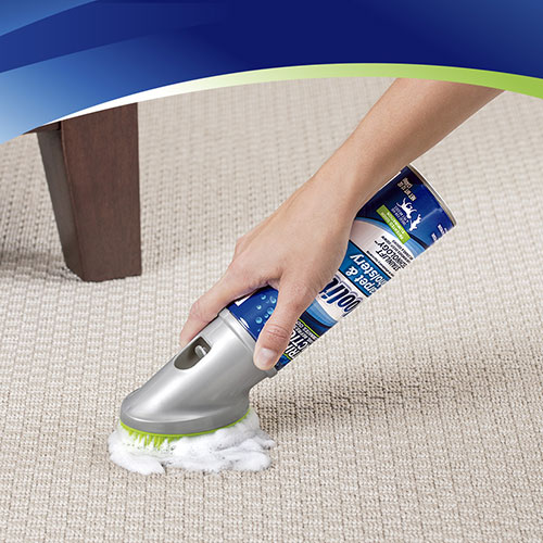Carpet Upholstery Foam Cleaner And Fabric Safe Brush 8352 Woolite