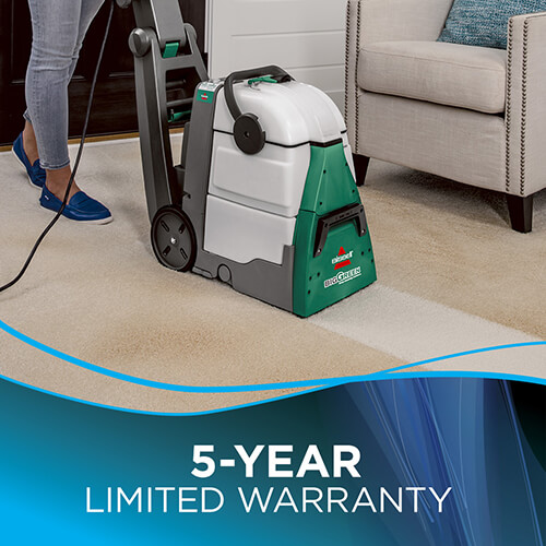 ... Big Green Machine Professional 86T3 BISSELL Carpet Cleaner Up Warranty ...
