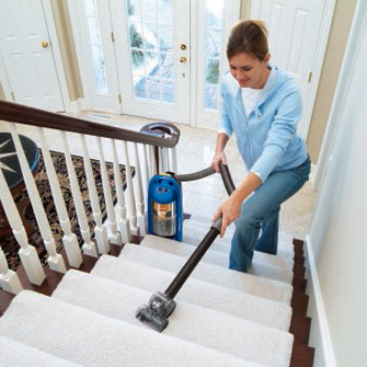 LiftOff MultiCyclonic Pet Vacuum 89Q9 Stair Cleaning