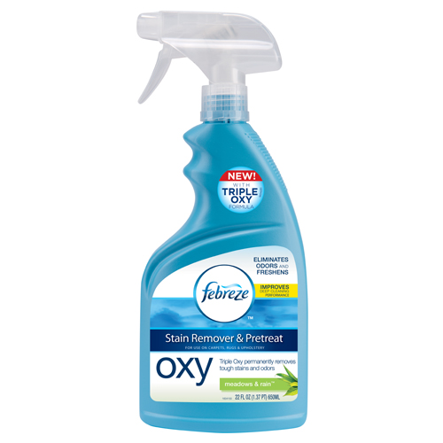 Febreze Meadows and Rain Pretreat Oxy Stain Remover 9522