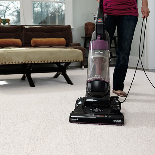 Cleanview Upright Vacuum 9595 Dirt Collection