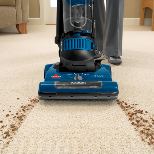 Powergroom Helix Rewind Vacuum 98N4 cleaning path