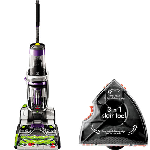 ProHeat 2X Revolution Pet Pro BISSELL Carpet Cleaner
