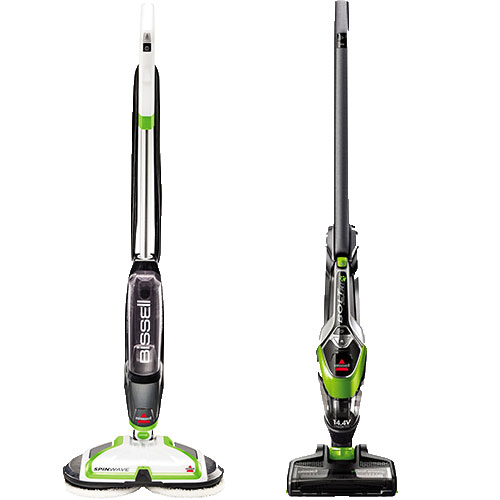 SpinWave® Hard Floor Spin Mop And BOLT® Hard Floor Cleaning Bundle | B0038
