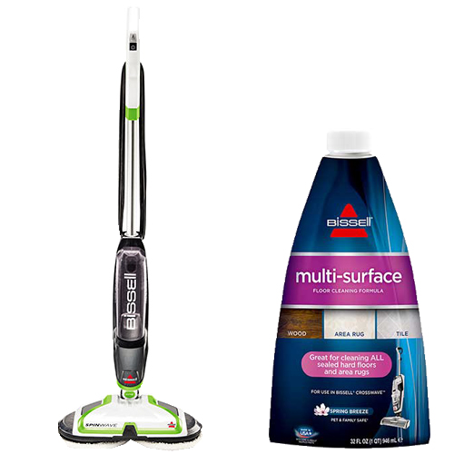 SpinWave Multi Surface Formula Bundle B0039 BISSELL Hard Floor Cleaner