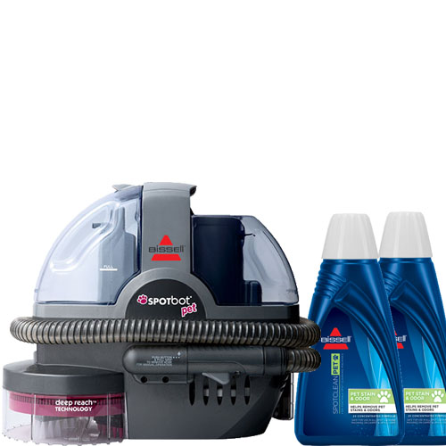 SpotBot Machine Pet Formula Bundle B0071 BISSELL Carpet Cleaners