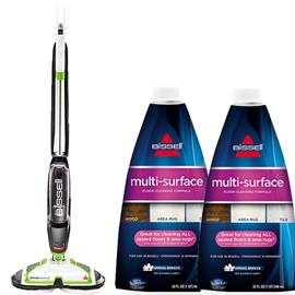 SpinWave Hard Floor Cleaner and Multi Surface Formula Bundle B0073