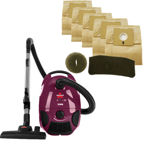 Zing Canister Vacuum 4122 Maintenance Bag Kit B0074